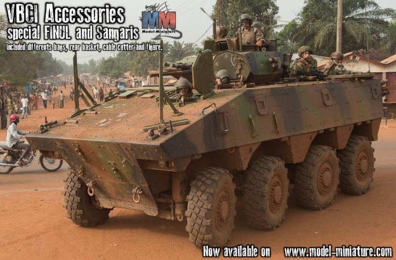 VBCI, FINUL et guerre africaine , accessoires Image510