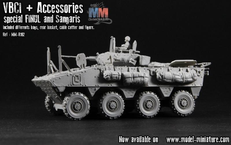 VBCI, FINUL et guerre africaine , accessoires Image711