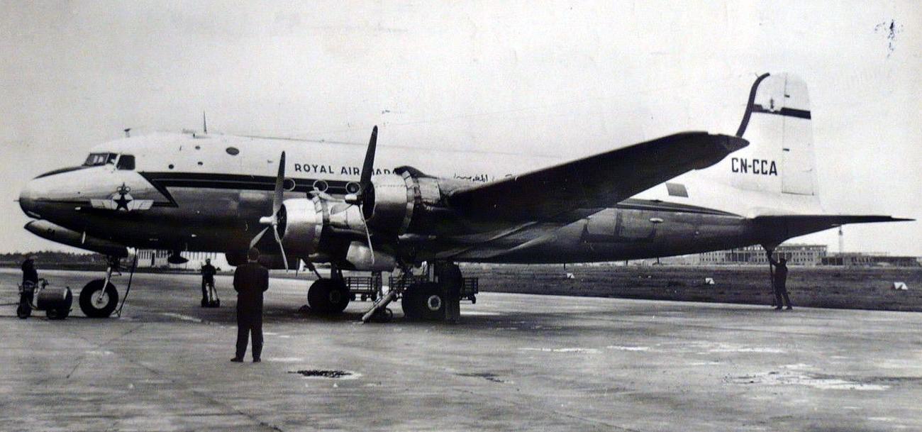 Anciens avions de la RAM Clipbo34