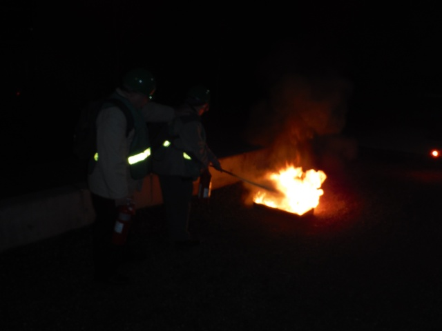 C-CERT Spring 2015 Basic Training - Fire Suppression C-cert10