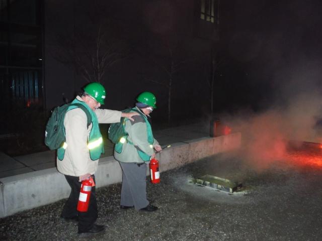C-CERT Spring 2015 Basic Training - Fire Suppression C-cert11
