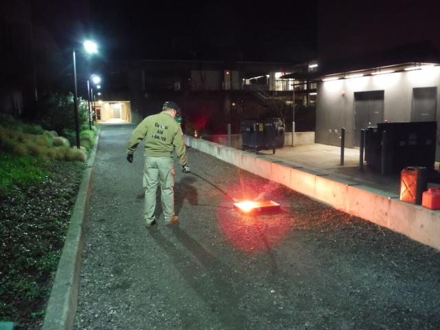 C-CERT Spring 2015 Basic Training - Fire Suppression C-cert13