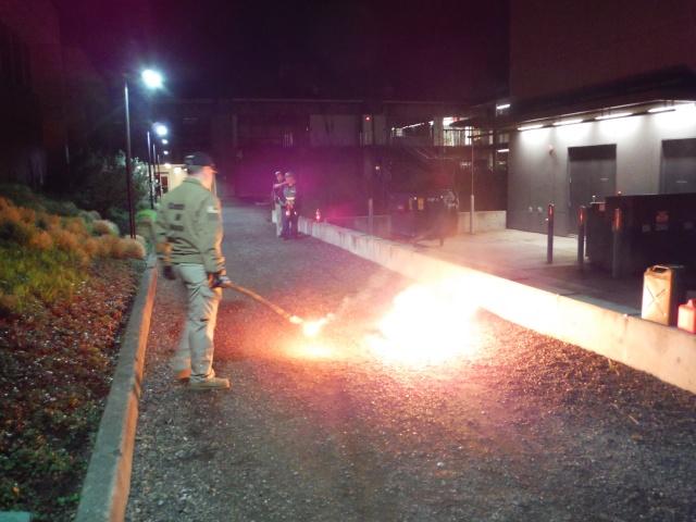 C-CERT Spring 2015 Basic Training - Fire Suppression C-cert14