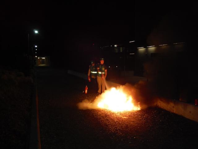 C-CERT Spring 2015 Basic Training - Fire Suppression C-cert19