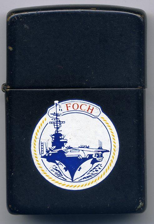 Zippo porte-avions Foch Foch_110