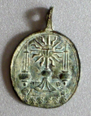 "Pequeña medalla ""Sanita"" Liesse12"