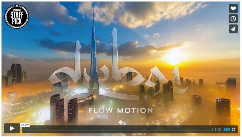 [lien] Dubai flow motion : la vidéo magnifique ! Dubai10