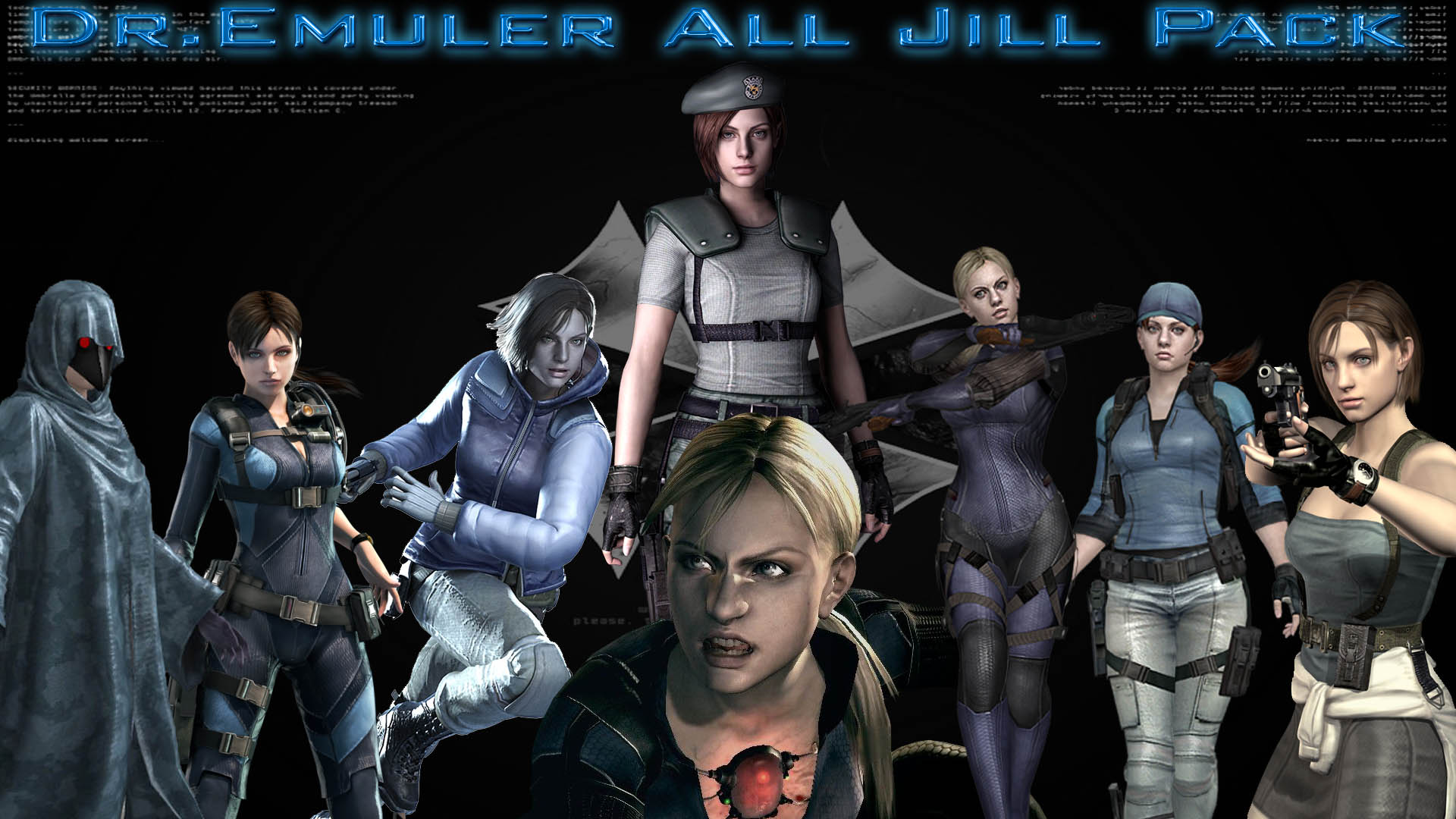 All Jill Enhanced Pack - Todas las Jill oficiales! Render12
