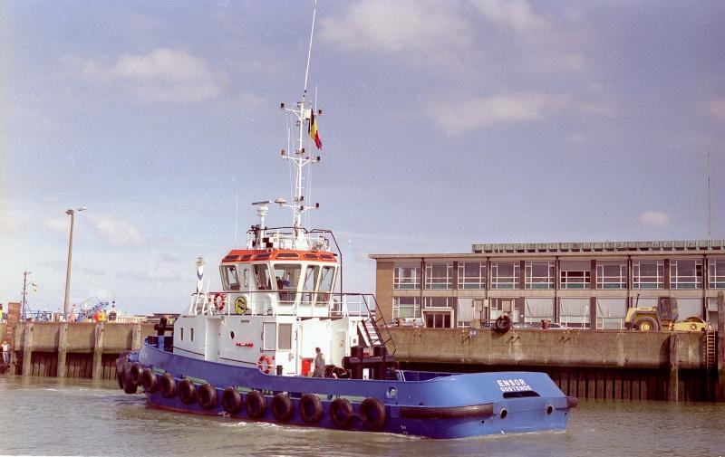Activité maritime à Ostende Ensor110