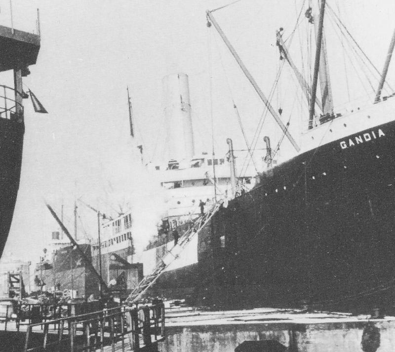 Navires marchands belges coulés lors de la 2ème guerre - Page 4 Gandia10