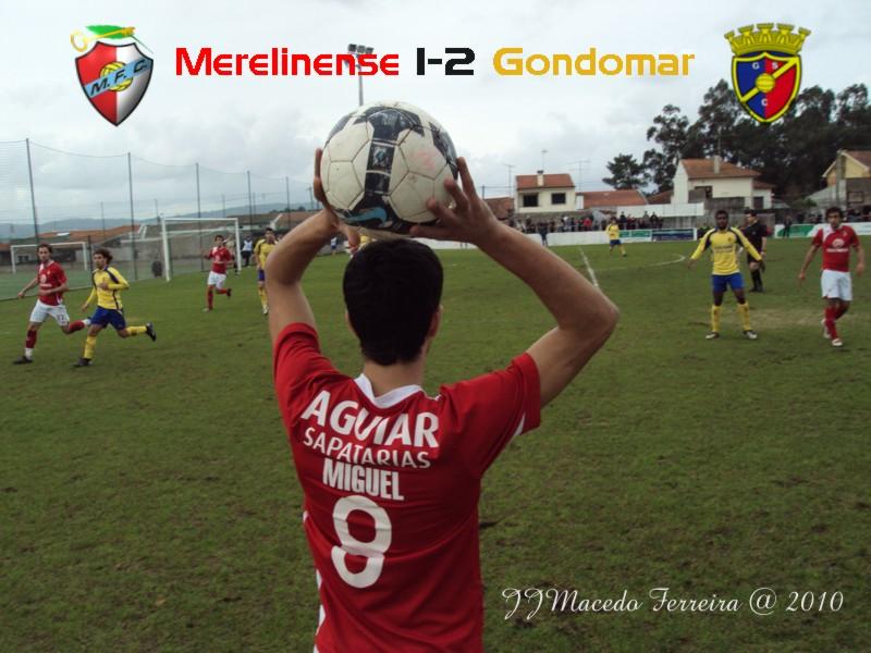 Merelinense 1-2 Gondomar (13ª jornada) Miguel10