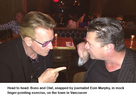 "Hotpress: ""Gli U2 a Vancouver: la mattina dopo..."" 00110"