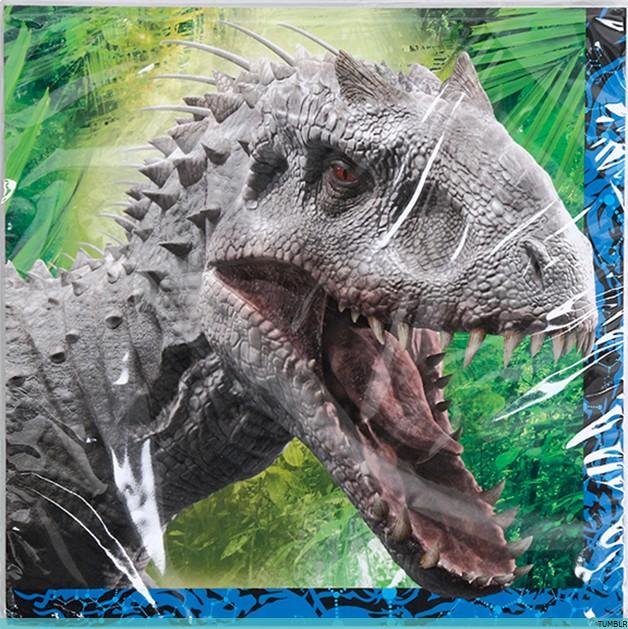 [Saga] Jurassic Park (1993-2015) - Page 2 Indomi10