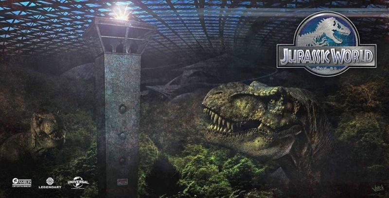 [Saga] Jurassic Park (1993-2015) - Page 4 Jurass12