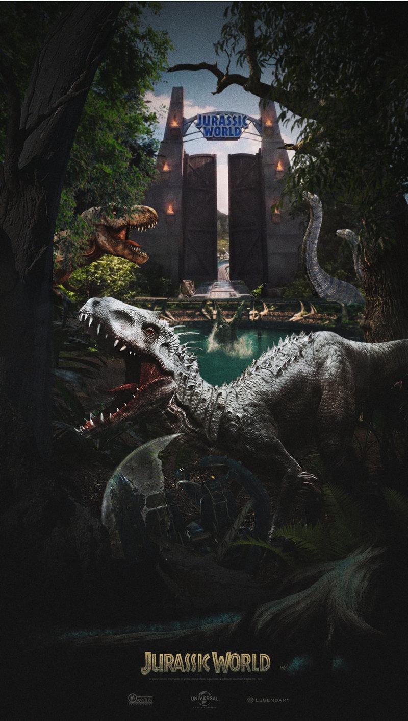 [Saga] Jurassic Park (1993-2015) - Page 4 Jurass15
