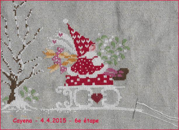 "Broderie ""porte-bonheur"" de CnP ….. 6-201510"