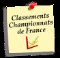 Les classements (journées du championnat de France terrée et 1/1)