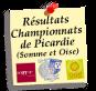 Vos résultats seniors dans les journées du championnat de Somme (Oise), des Hauts de France  et les coupes.