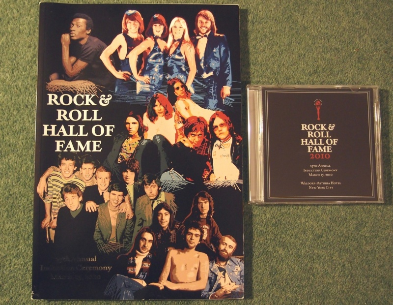 Rock & Roll Hall of Fame Magazine Article 2010 Pa112910
