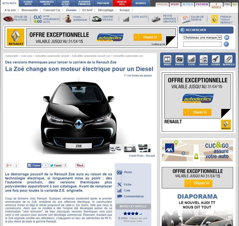 L'avenir de la voiture passera par l'électrique - Page 10 Presse11