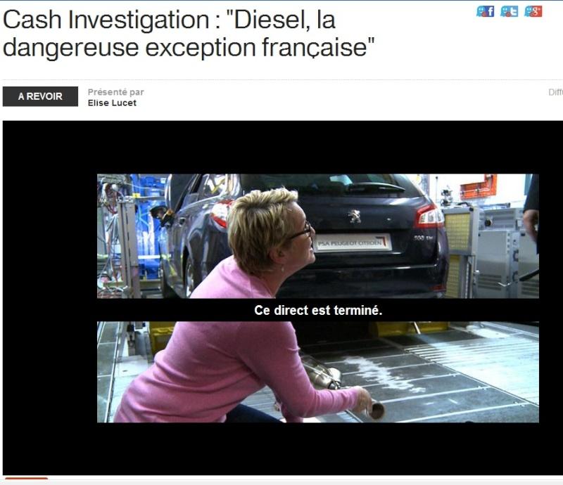 Micro particules provoquées par la circulation routière. Diesel11