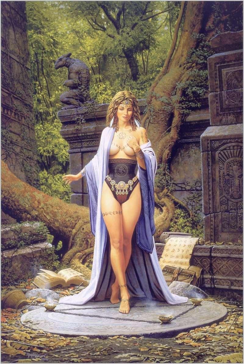 """Ilustraciones de """"Espada y Brujería"""" (NO Conan) 8yw8sy10"""
