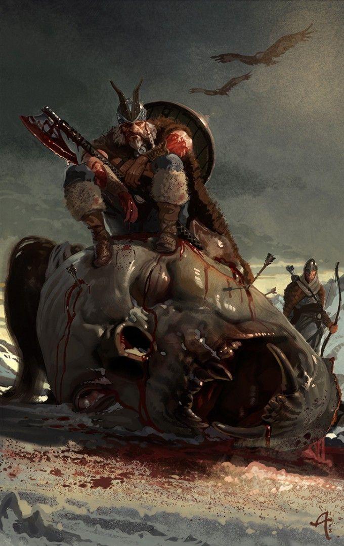 """Ilustraciones de """"Espada y Brujería"""" (NO Conan) Christ10"""