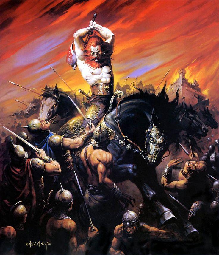 """Ilustraciones de """"Espada y Brujería"""" (NO Conan) D89c9210"""