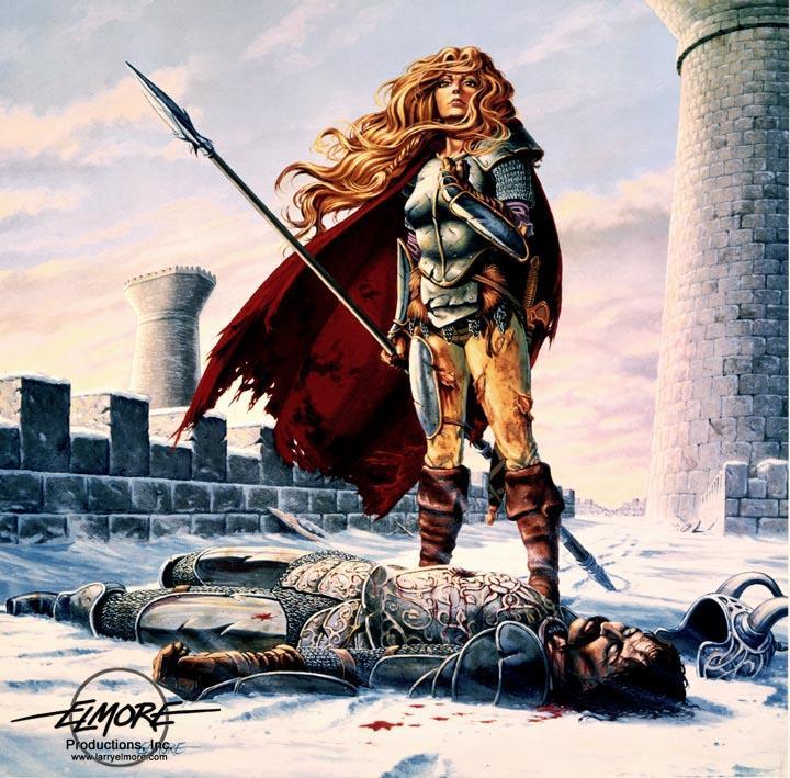 """Ilustraciones de """"Espada y Brujería"""" (NO Conan) Death_10"""