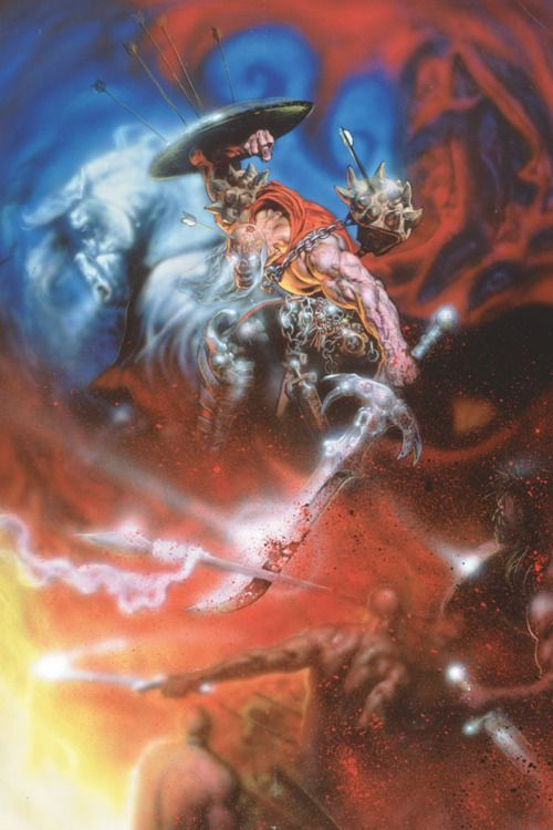 """Ilustraciones de """"Espada y Brujería"""" (NO Conan) Glenn_10"""