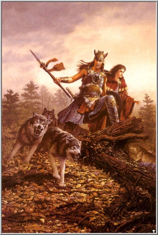 """Ilustraciones de """"Espada y Brujería"""" (NO Conan) Keith_10"""