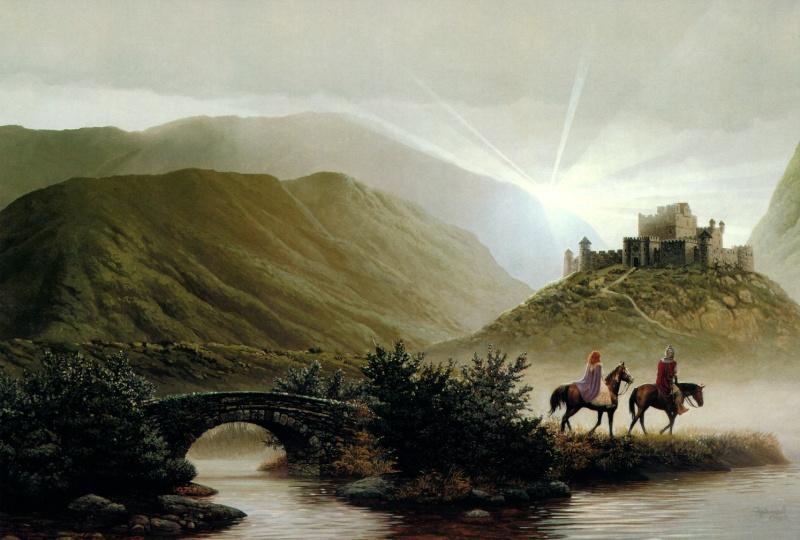"""Ilustraciones de """"Espada y Brujería"""" (NO Conan) Keith_11"""