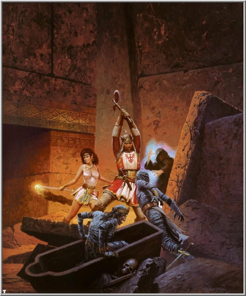 """Ilustraciones de """"Espada y Brujería"""" (NO Conan) Keith_14"""