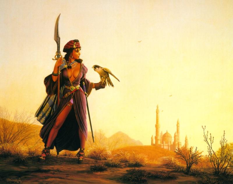 """Ilustraciones de """"Espada y Brujería"""" (NO Conan) Mistre10"""