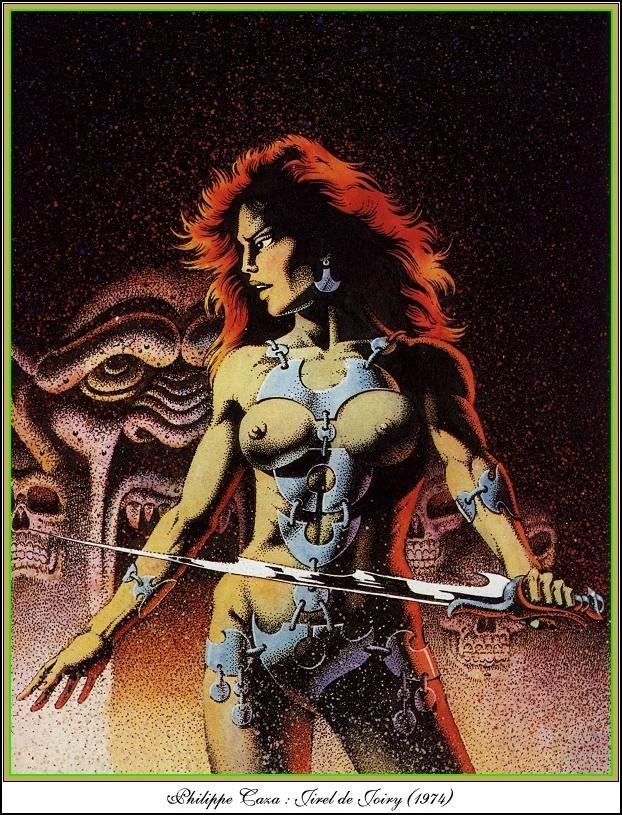 """Ilustraciones de """"Espada y Brujería"""" (NO Conan) Philip10"""