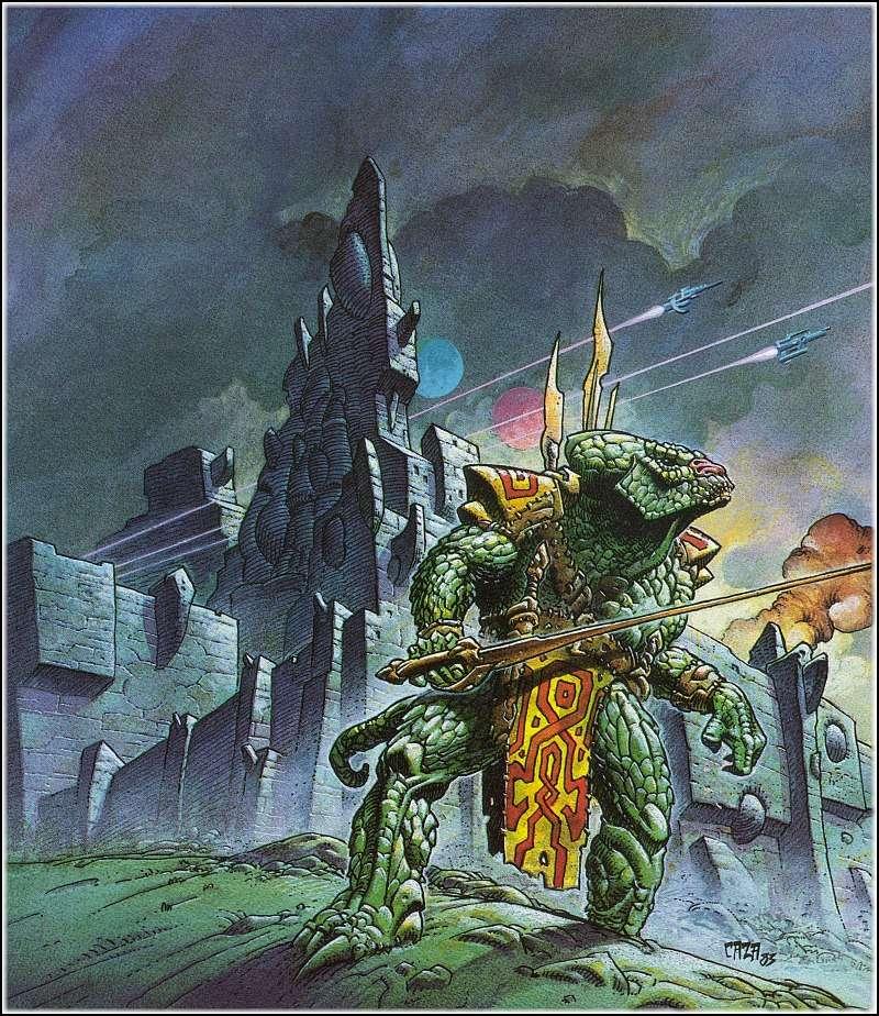 """Ilustraciones de """"Espada y Brujería"""" (NO Conan) Philip11"""