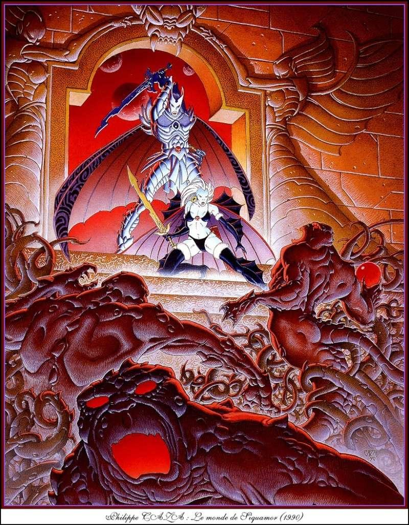 """Ilustraciones de """"Espada y Brujería"""" (NO Conan) Philip12"""