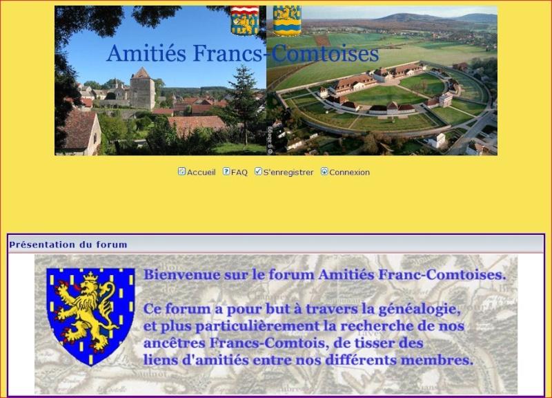 AUTRES FORUMS GENEALOGIQUES FRANCOPHONES Amitia10