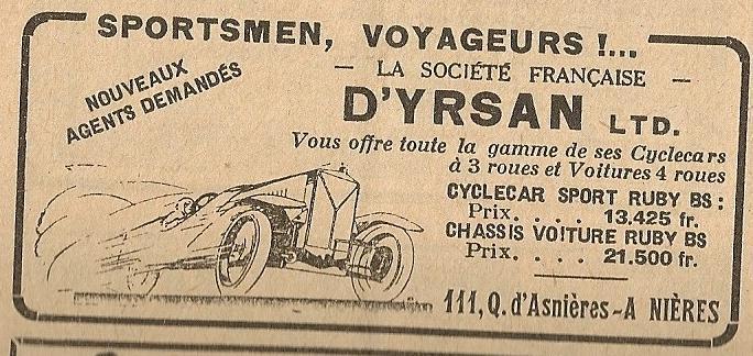 D'Yrsan tricyclecar D_yrsa12