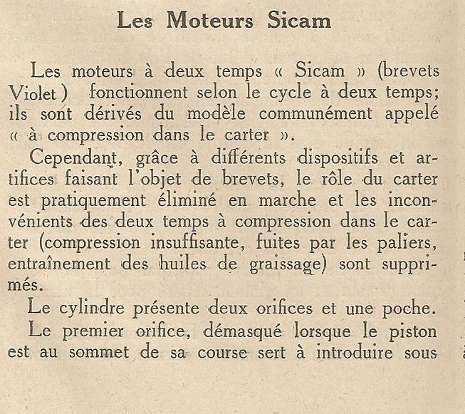 Sicam cyclecar Moteur19