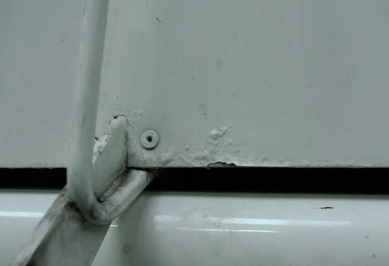 Dépose des ailes et traitement de la corrosion Captur88