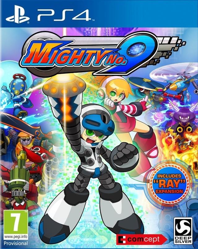Mighty No.9 : le fils spirituel de Megaman 91fiuz10
