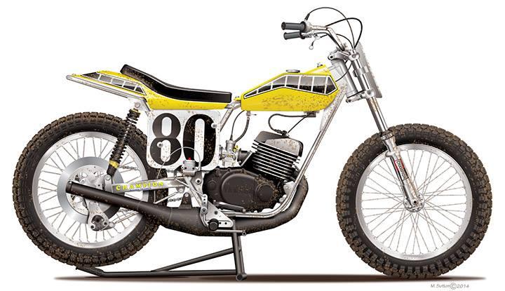 Yamaha 490 IT Dirt piste 10947110