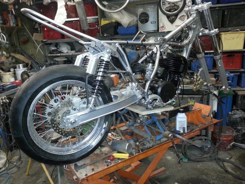Yamaha 490 IT Dirt piste 20150418
