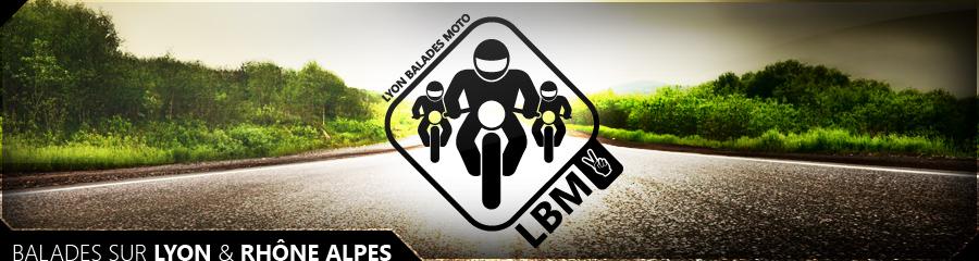 Lyon balades moto