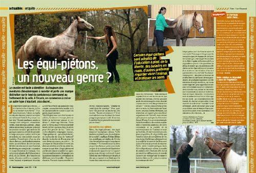cheval - CHEVAL MAGAZINE : Janvier 2014 et Juin 2014 Articl10