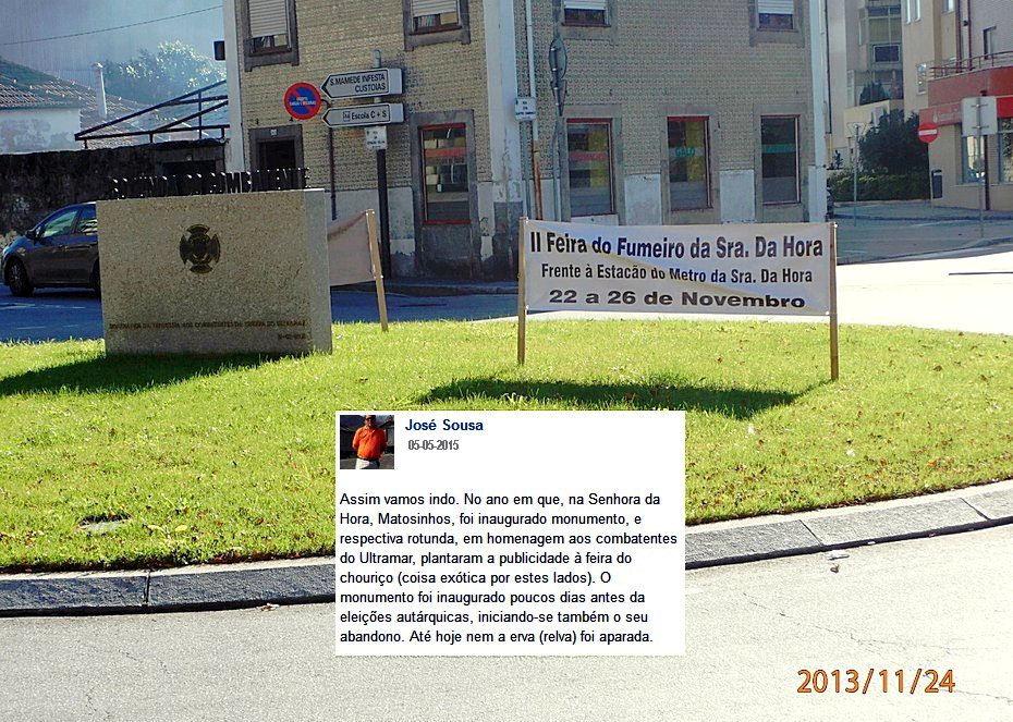 Aconteceu na freguesia Senhora da Hora (Matosinhos)! Quatro meses após a inauguração ... Mec_1411