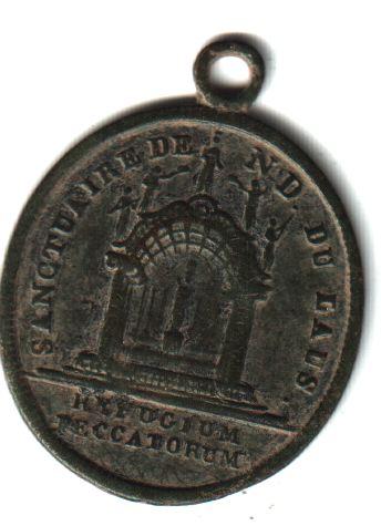 Médaille Notre-Dame-du-Laus - fin XIXème A1110