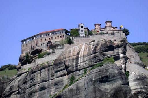 Les monastères et villes du bout du monde! Grece_10