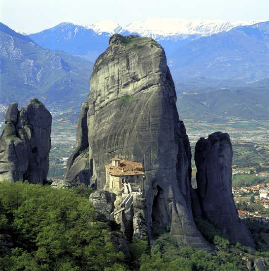 Les monastères et villes du bout du monde! Meteor11